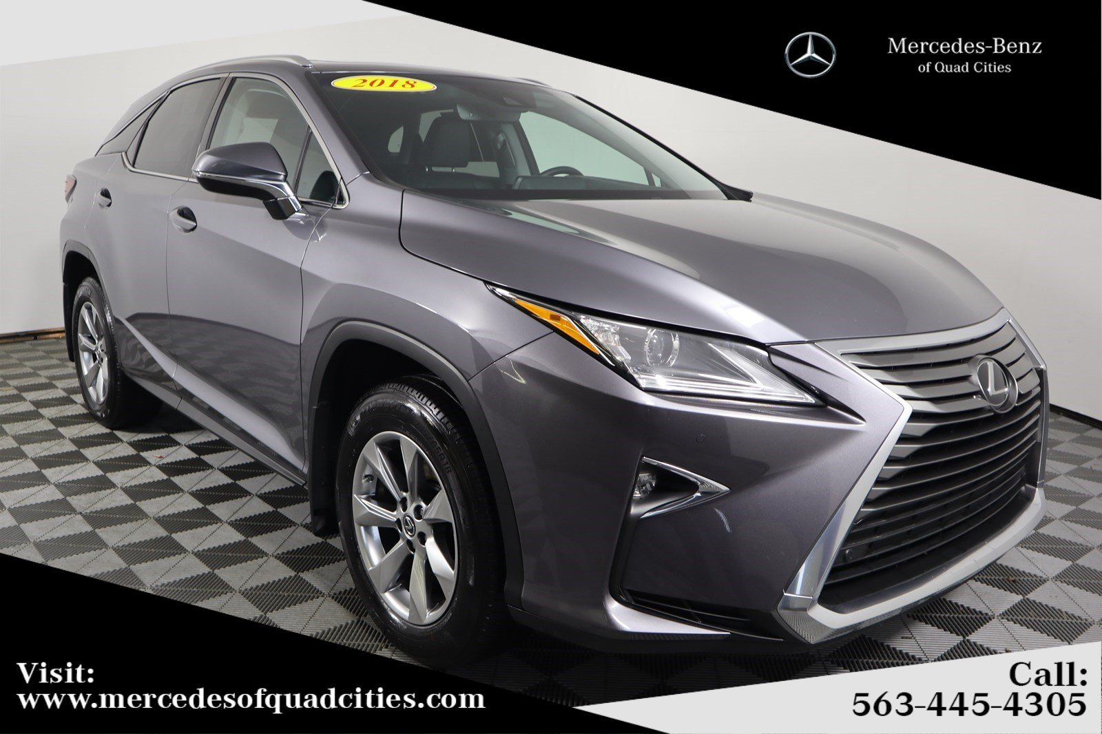 Pre-Owned 2018 Lexus RX 350