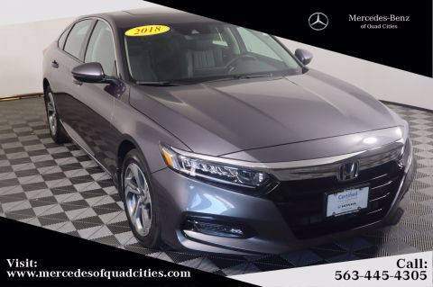 Pre-Owned 2018 Honda Accord Sedan EX-L Navi 2.0T